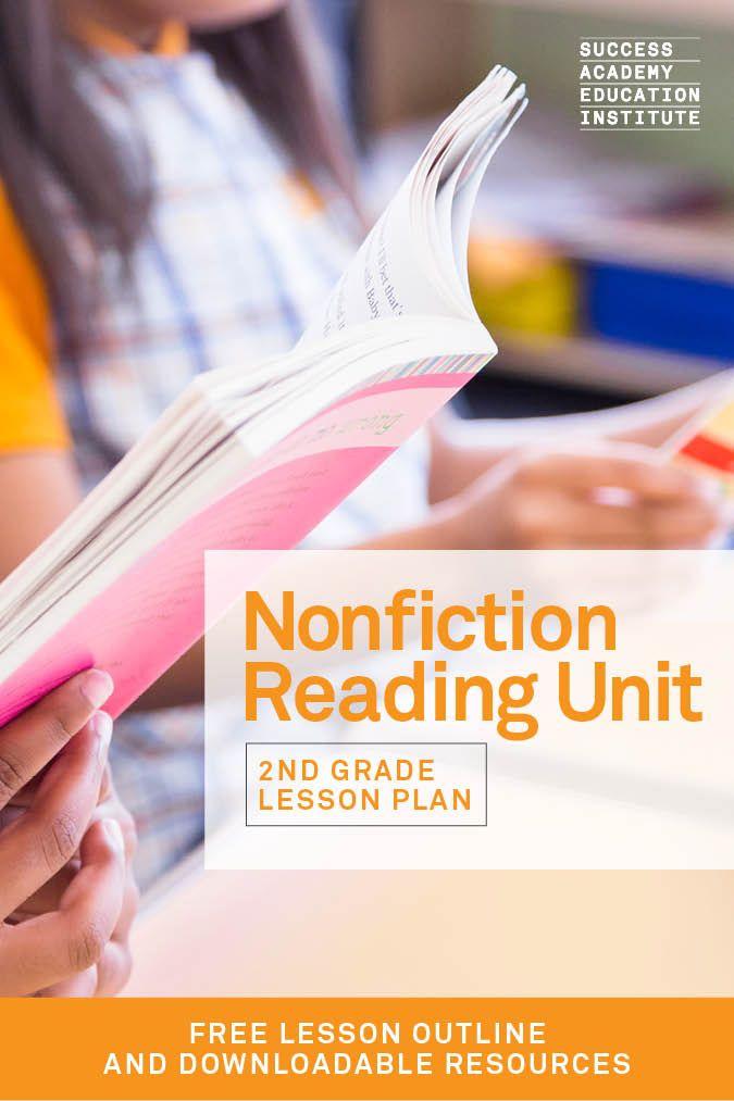 Non Fiction Lesson Plan This Free Second Grade Reading Unit