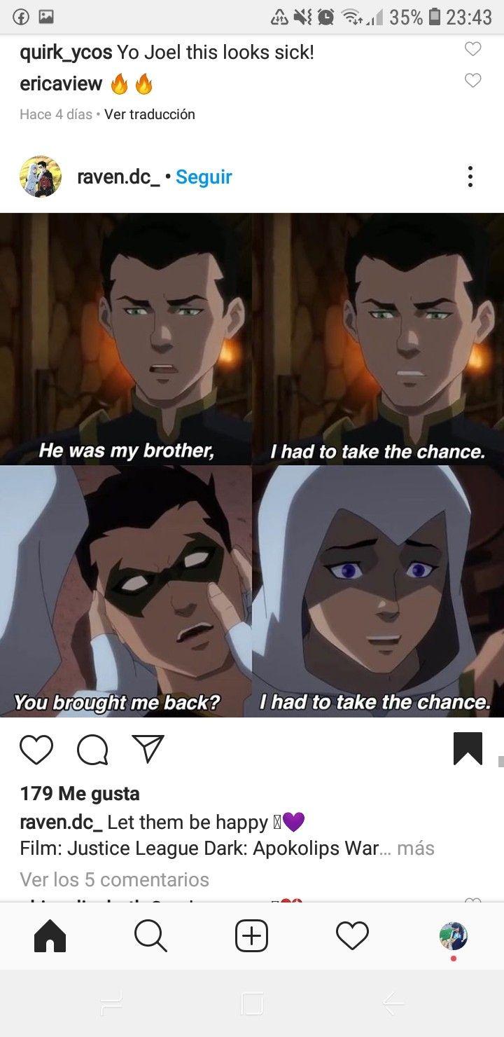 Pin On Raven Y Damian