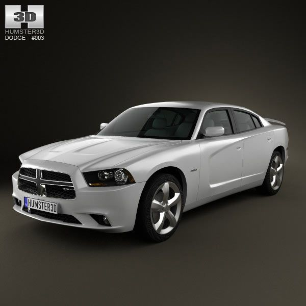 Dodge Charger (LX) 2011 3d Model From Humster3d.com. Price