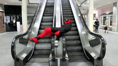 He gets how escalators work.