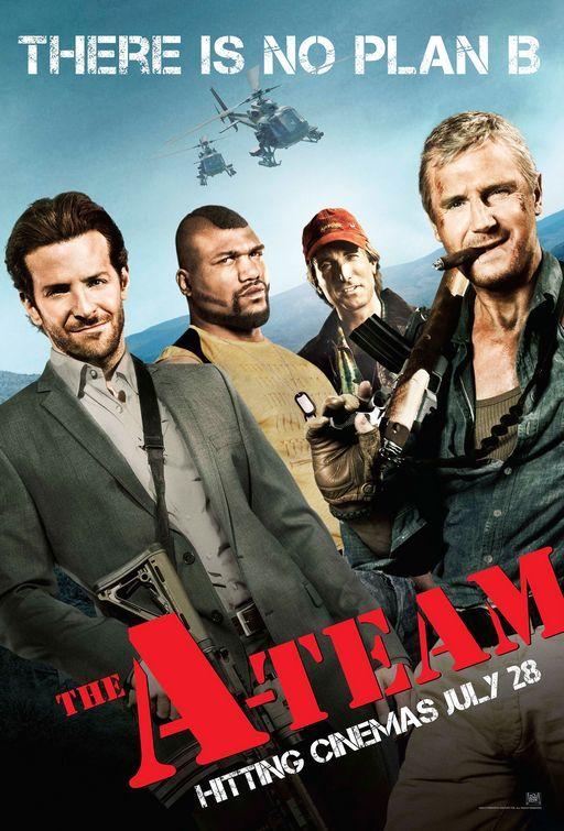 The A-Team (2010) a film by Joe Carnahan + MOVIES + Liam Neeson + Bradley Cooper + Sharlto Copley + Jessica Biel + Quinton 'Rampage' Jackson + cinema + Action + Adventure + Comedy