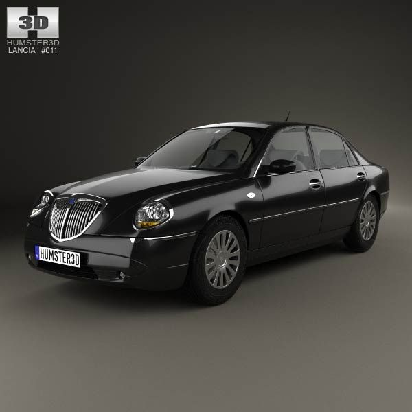 Lancia Thesis 2002 3d model from humster3d.com. Price: $75