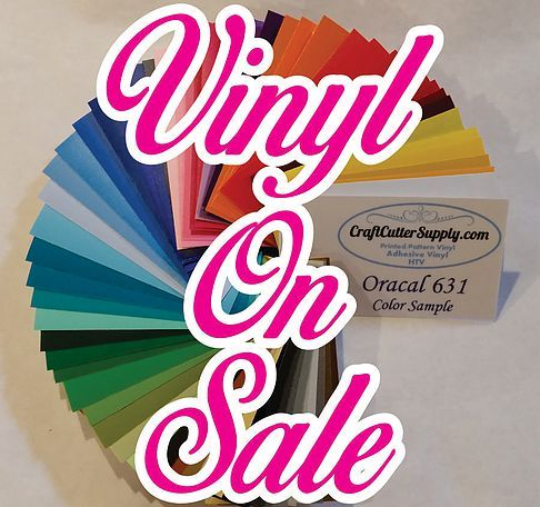 GREAT PRICES and REALLY FAST SHIPPING on adhesive vinyl, heat transfer vinyl (HTV) patterned vinyl, glow in the dark, chalk board, dry erase, and glitter vinyl.
