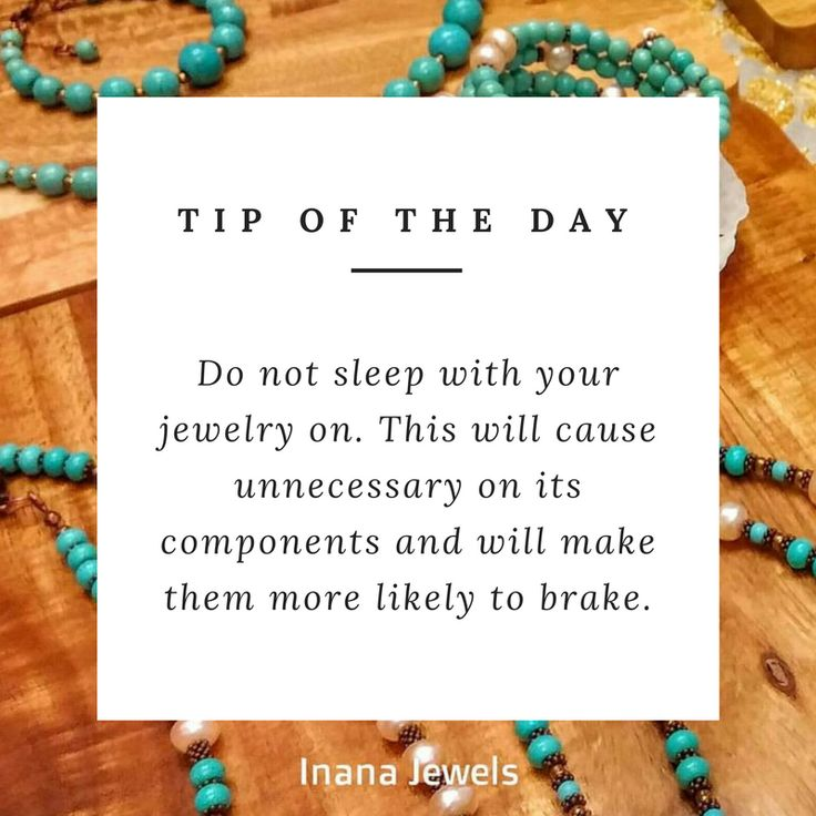 Tip of the day by Inana Jewels.
