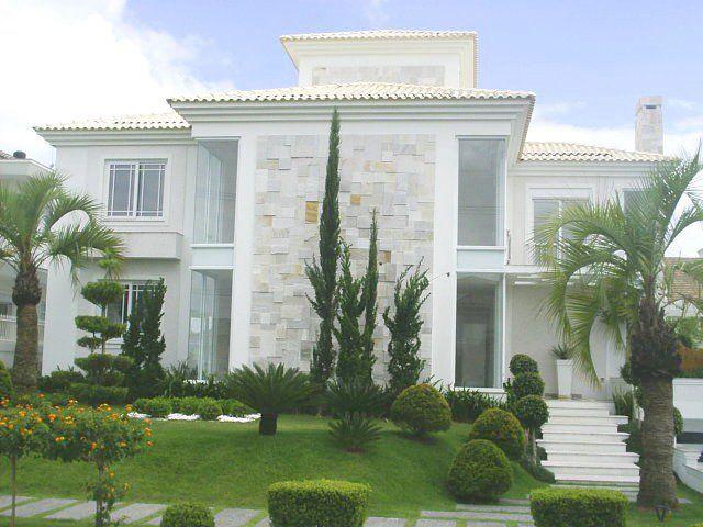 17 best images about fachadas de casas assobradadas on for Fachadas casas modernas