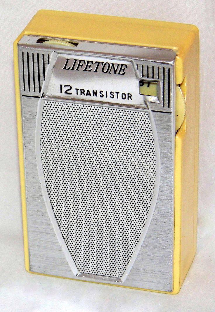 https://flic.kr/p/B4oyjN | Vintage Lifetone Transistor Radio, Model HT-1225, AM Band, 12 Transistors, Made In Japan, Circa 1960s
