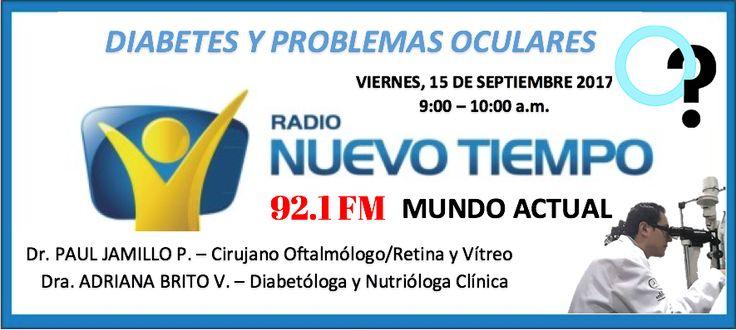 Dr. Paul Jaramillo P. Oftalmólogo. Diabetes Ocular. Retina y Vítreo, Quito - Ecuador