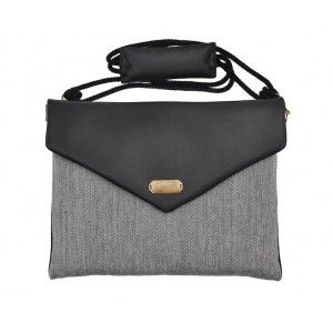"Lola Victoria Design - etui torba laptop 13"" VISION SILVER BLACK"