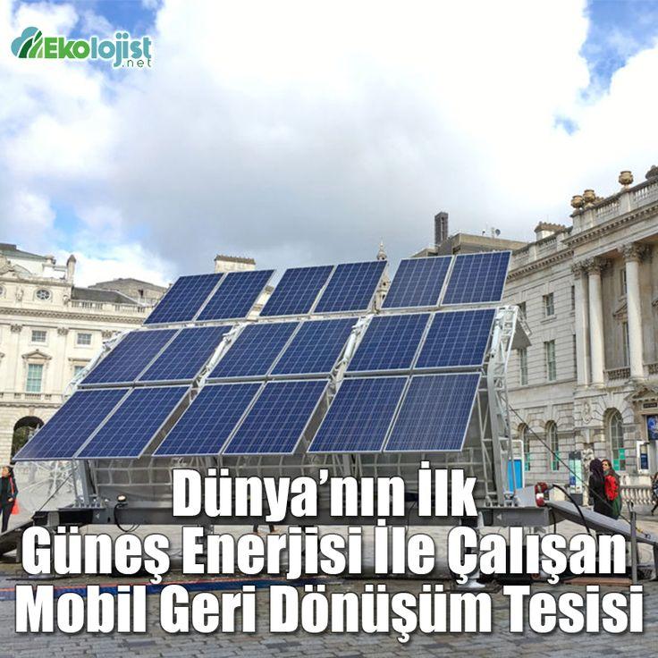 Dünya'nın İlk Güneş Enerjisi İle Çalışan Mobil Geri Dönüşüm Tesisi #geri #donusum #geridonusum #recycling #pentatonic #trashpresso