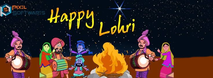 Enjoy this Lohri to the fullest and don't forget to put Rewri, moongfali and popcorns in the Lohri fire. This will definitely bring good luck for you. - www.pixelsoftwares.com