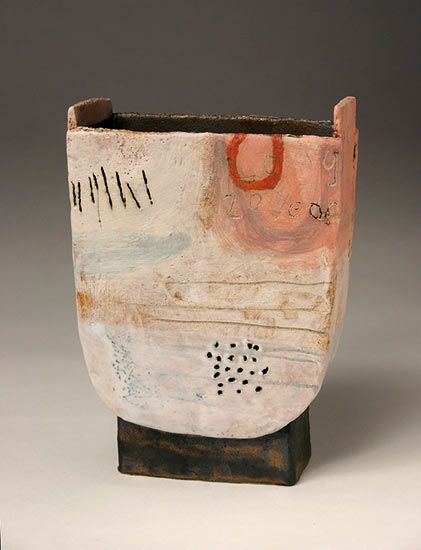 Ceramics by Craig Underhill at Studiopottery.co.uk - 2012. 20 years, 19cm high.