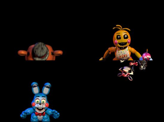 Five Nights At Freddy's 2 - All Toys Gif by StellasStar on DeviantArt