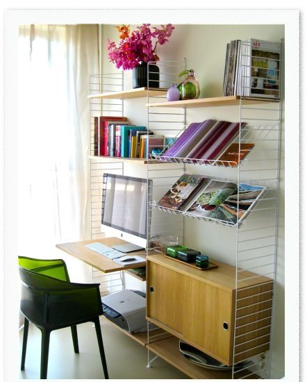 Last week , I tried to give my great friend Stefania some tips for a great home office. In fact, I almost forgot my love for the Swedi...