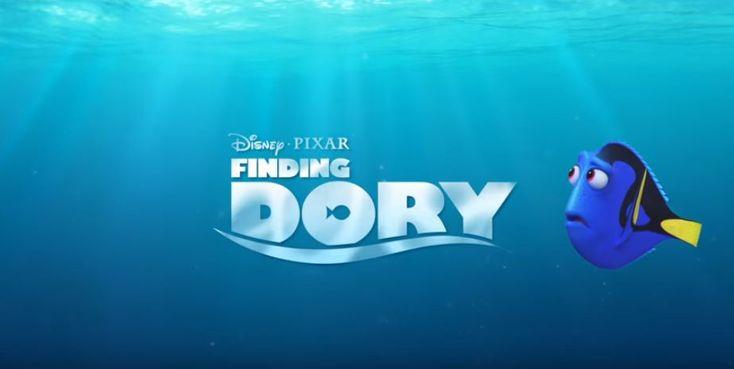 Finding Dory, film animasi terlaris di Amerika Serikat dan salah satu film terlaris tayang pertama setelah Captain America : Civil War.
