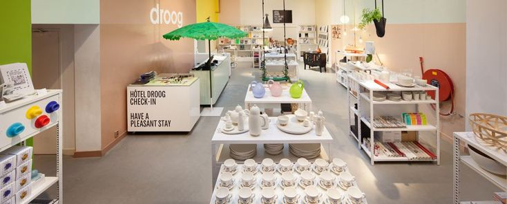 In Amsterdam, Droog Design has everything: interior design store, coffee shop and hotel - See more at: http://magazine.designbest.com/en/store-events/stores/amsterdam-droog-interior-design-store-hotel/ - @droogamsterdam