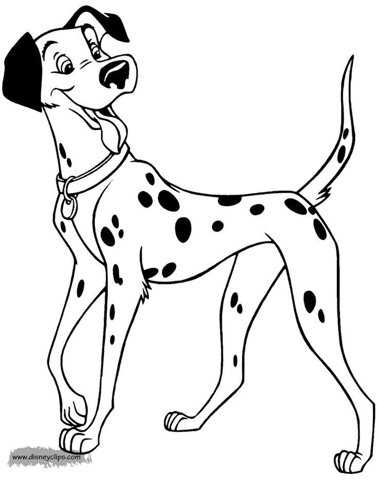Pongo 101dalmatians With Images Horse Coloring Pages