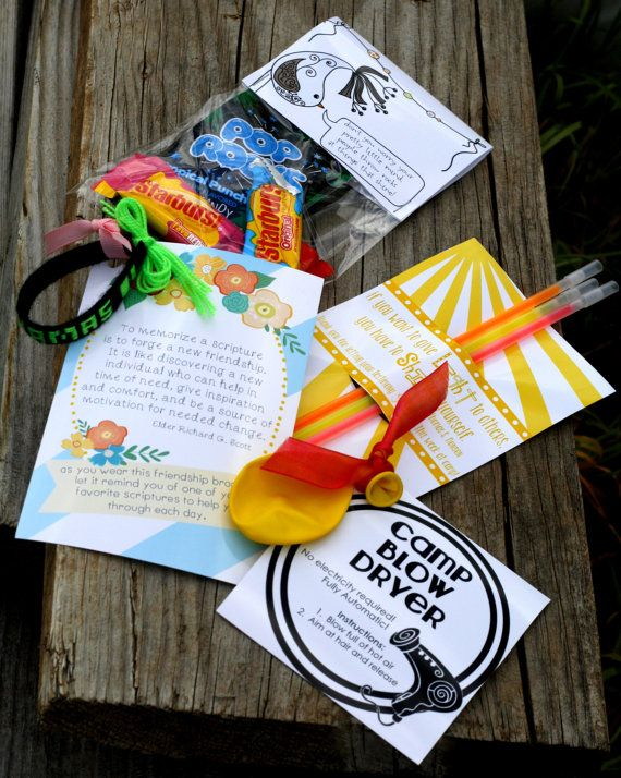 Girls camp handouts set of four INSTANT download on etsy / by CdotLove, $6.00