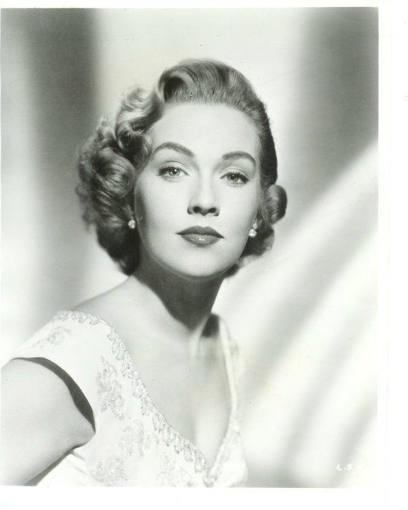 Leigh Snowden 1954 Vintage Hairstyles Hair Lengths