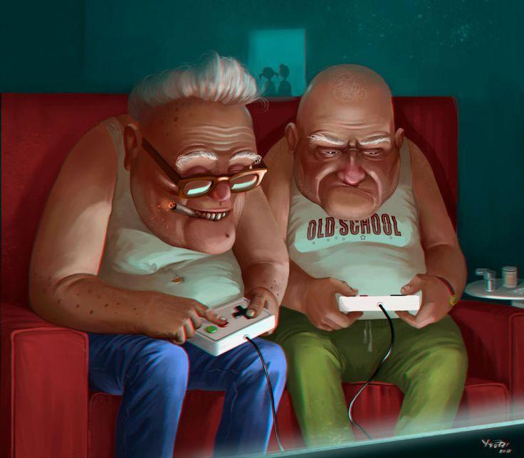 С возрастом геймеры теряют интерес к видеоиграм
