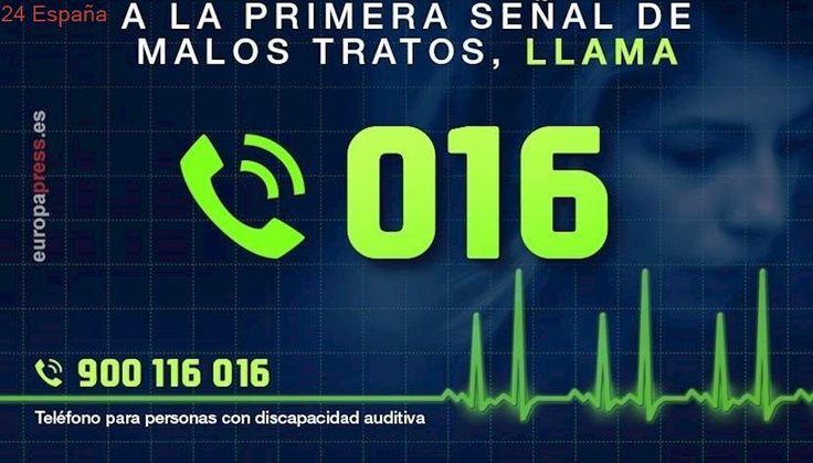 El teléfono 016 cumple diez años desde la primera llamada y suma casi 700.000 asistencias