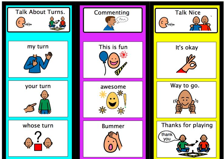 Click the download button at this site to print a great visual support to use when playing games with students who have limited verbal communication.