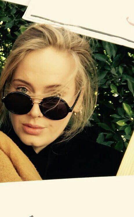 Adele et ses lunettes Gucci