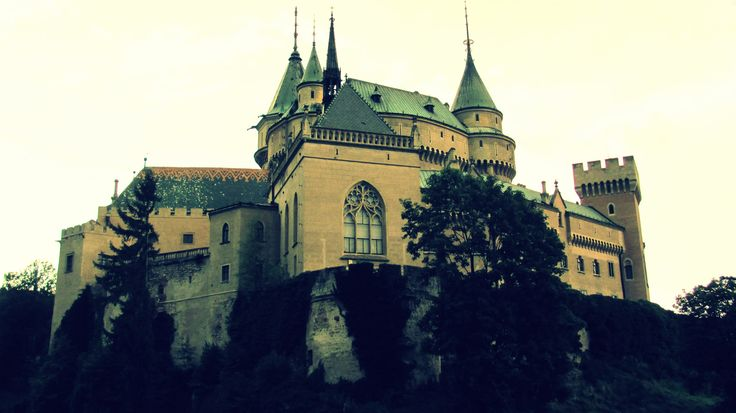Castle in Bojnice