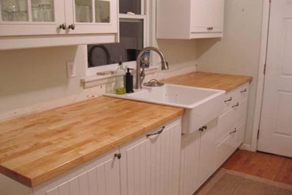Kitchen Of The Week A Diy Ikea Country Kitchen For Two: 1000+ Images About Wood Counter Installation Tutorials On