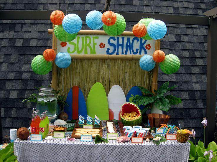 Surfer Boy Birthday Party | Random Housewifery