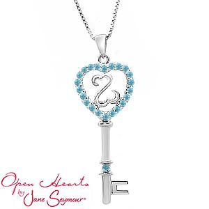 86 best open hearts by jane seymour images on pinterest jane personalize your open hearts by jane seymour color key necklace aloadofball Gallery