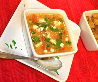 Foxtrot in America: Super Simple Sour Trahana Soup