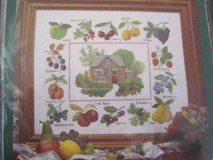 SeeSallySew.com - Orchard Cottage Cross Stitch The Craft Collection Needlework Kit