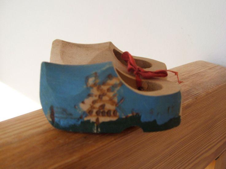 Vintage Souvenir Dutch Wooden Shoes Big Rapids Michigan by lookonmytreasures on Etsy