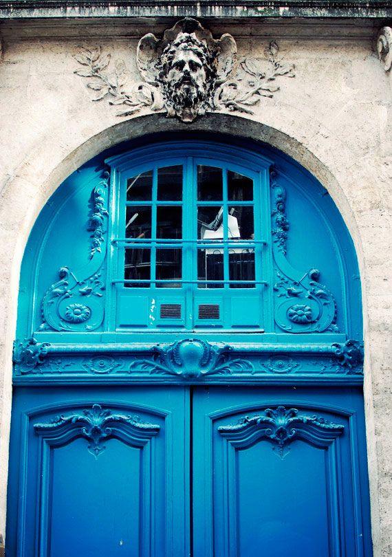 La Marais Paris. Beautiful blues on a winter's day