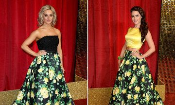 Anna Passey And Isabel Hodgins Were In For A Shock At The British Soap Awards