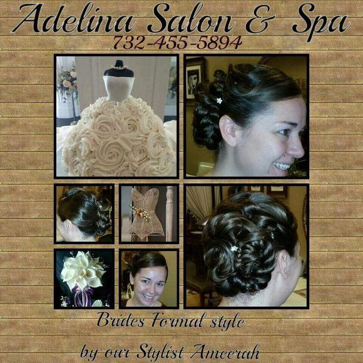 Brides updo. | Adelina Salon & Spa | Pinterest | Salons, Updos and Spa