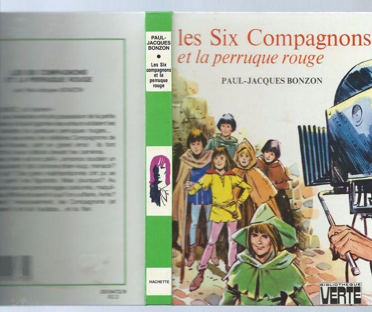 LES SIX COMPAGNONS ET LA PERRUQUE ROUGE.BIBLI verte 1982.T. BON ETAT.