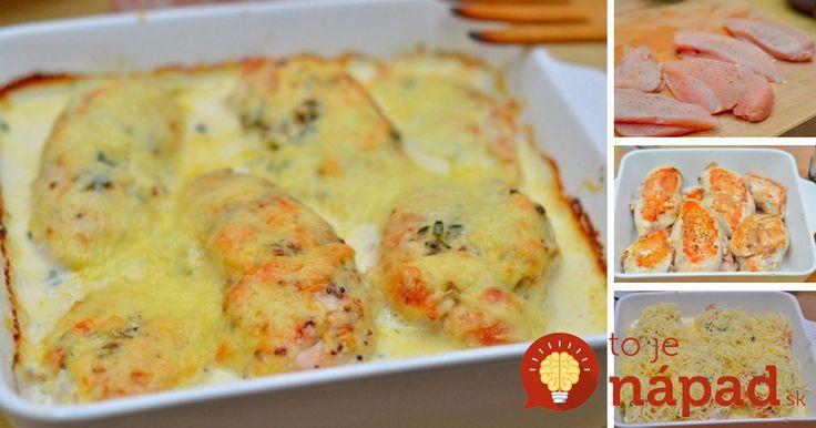 Zabudnite na vysušené a tvrdé kuracie prsia. Tento lahodný a šťavnatý pokrm s vynikajúcou omáčkou vás jednoducho dostane.