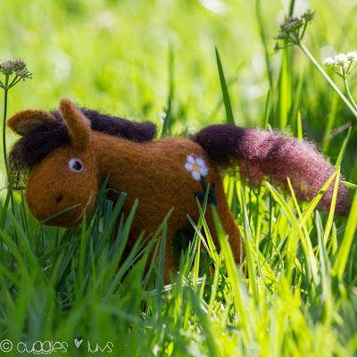 Cuggles & Luvs: Needle-felted Pony