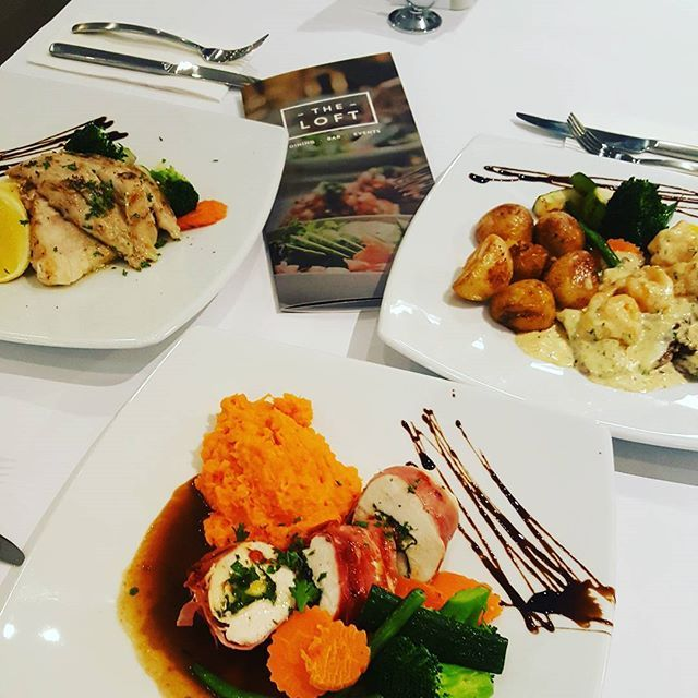 """Some of the favourites we are serving up tonight. Stuffed Chicken, Perch Fillets & Veal Gamberi. Yum! Come in for dinner. #loft #dining #bar #events."" by @theloftdining. #이벤트 #show #parties #entertainment #catering #travelling #traveler #tourism #travelingram #igtravel #europe #traveller #travelblog #tourist #travelblogger #traveltheworld #roadtrip #instatraveling #instapassport #instago #여행 #outdoors #ocean #mytravelgram #traveladdict #world #hiking #lonelyplanet #event #weddings #dj…"