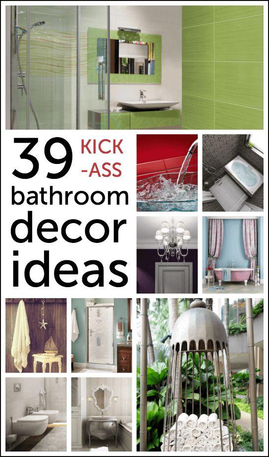 I 39 ve compiled a list of bathroom decor ideas for the day i for Bathroom decor list