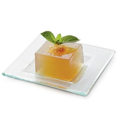 Mint Julep Gelées | These classy little treats are perfect for derby! | SouthernLiving.com