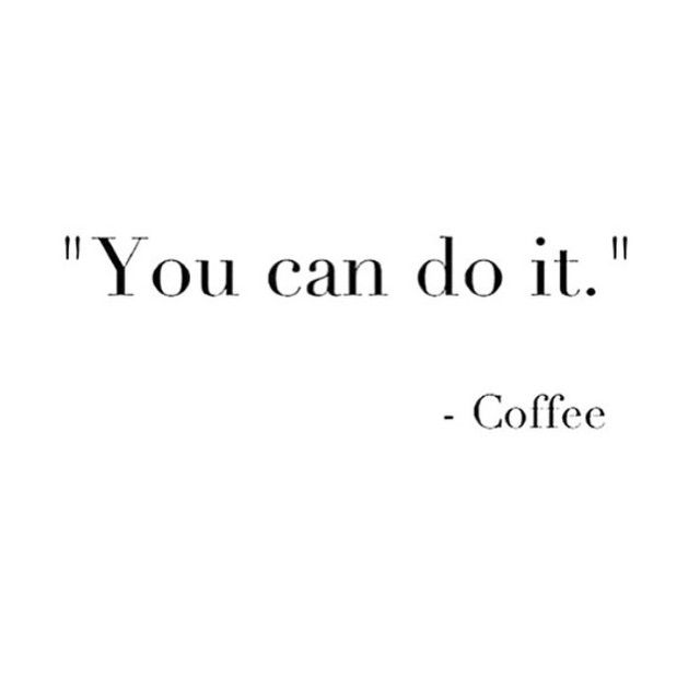 Sometimes, the best motivation comes from the simplest places  ☕️☕️☕️ #CoffeeTalk #YouCanDoIt