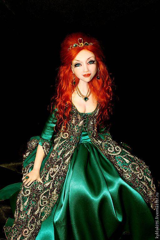Купить Султан Хюррем - великолепный век, султан хюррем, восточный стиль, авторская кукла, сериал