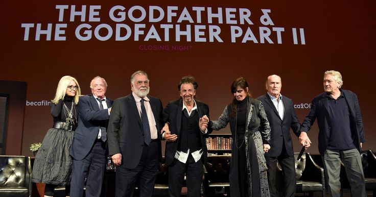 The Godfather cast discuss Al Pacino's height and Marlon Brando's balls at Tribeca reunion