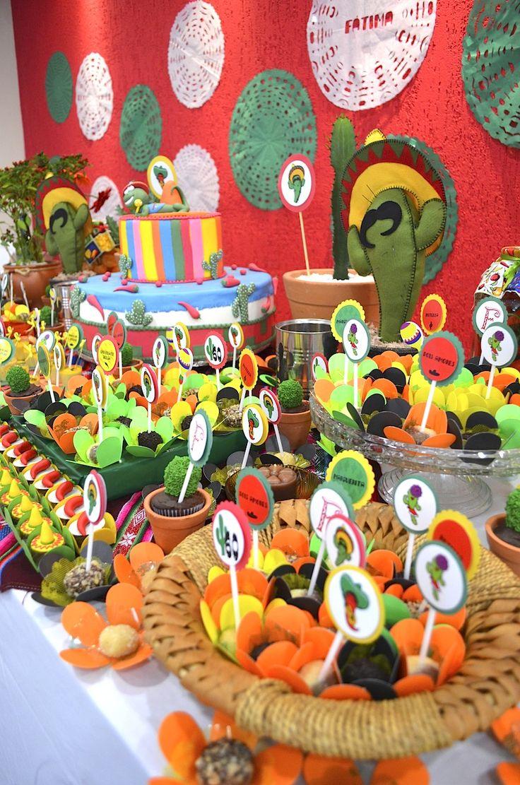 63 best fiesta images on pinterest birthday party ideas - Ideas decoracion fiestas ...