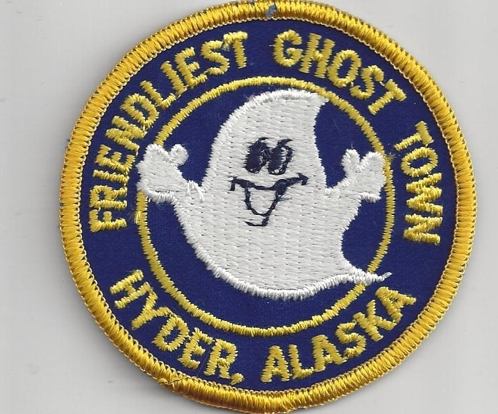 Souvenir Travel Patch Hyder Alaska Friendliest Ghost Town | eBay