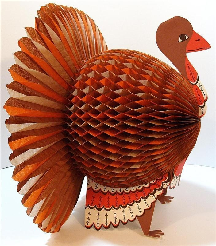 Paper thanksgiving decorations - photo#38