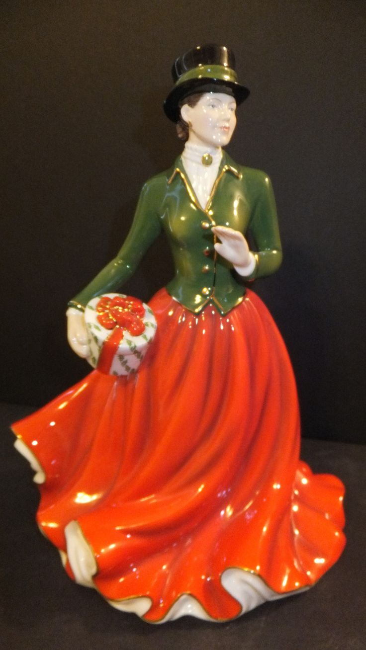 Best images about figurines christmas royal doultons
