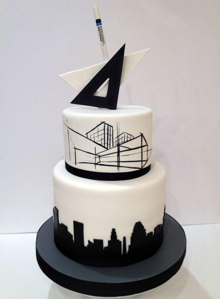 Architect's Retirement cake For La Cakerie                                                                                                                                                      More